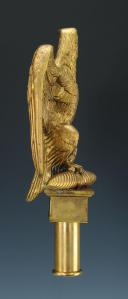 REPRODUCTION D'UNE AIGLE DE DRAPEAU, modèle 1804, PREMIER EMPIRE. (2)