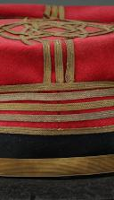 KÉPI DE LIEUTENANT-COLONEL D'ÉTAT-MAJOR, SECOND EMPIRE, VERS 1860-1870. (2)