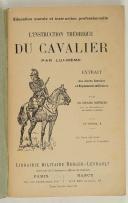 Photo 2 : Cdt CHAPUIS - -Instruction théorique du cavalier par lui-même