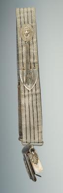 Photo 4 : GIBERNE DE GRANDE TENUE DU 9ème Régiment de CHASSEURS À CHEVAL DE LA LIGNE VERS 1810-1815