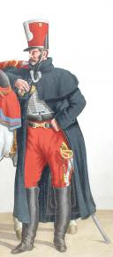 1824. Hussards. Officier (3e Régiment - de la Moselle).