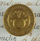 BOUTON DES CANONNIERS DE LILLE, PREMIER EMPIRE. (1)