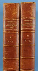 Photo 1 : SIX GEORGES : DICTIONNAIRE BIBLIOGRAPHIQUE DES GÉNÉRAUX ET AMIRAUX FRANÇAIS DE LA RÉVOLUTION ET DE L'EMPIRE, 1792-1814. 2 TOMES.