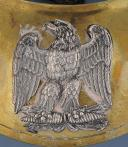 Photo 2 : HAUSSE-COL D'OFFICIER DE LA GARDE NATIONALE, MODÈLE DU 27 mars 1852, PRÉSIDENCE DE LOUIS-NAPOLÉON.