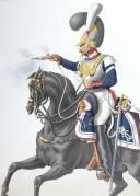 Photo 2 : 1830. Garde Royale. Cuirassiers (1er Régiment).  Cuirassier.