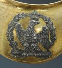 Photo 2 : HAUSSE-COL D'OFFICIER D'INFANTERIE DE LA GARDE IMPÉRIALE, modèle 1804, PREMIER EMPIRE.