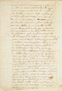 Photo 2 : LETTRE MANUSCRITE DATÉE DU 6 DÉCEMBRE 1836