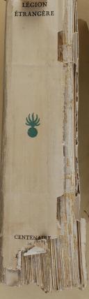 """Photo 8 : BRUNON - """" Livre d'or de la Légion Étrangère 1831-1931 """" - Paris - 1931"""