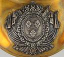 HAUSSE-COL D'OFFICIER DE LA GARDE ROYALE, MODÈLE DU 1er septembre 1815, RESTAURATION. (2)