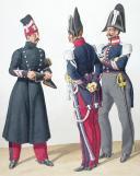 Photo 2 : 1830. Garde Royale. Artillerie. Maître-Ouvrier de Dragons, de Hussardq, de Cuirassiers (2e Régiment).