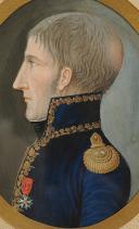 PORTRAIT MINIATURE DU GÉNÉRAL ROGER VALHUBERT, PREMIER EMPIRE. (3)