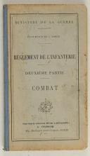 Photo 5 : MINISTÈRE DE LA GUERRE. Règlement de l'infanterie 1821.