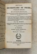 NUGENT – Nouveau dictionnaire de poche Français-Anglais et Anglais-Français (Descharmes)