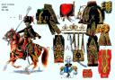 RIGO (ALBERT RIGONDAUD) : LE PLUMET PLANCHE 196 : GENERAL DE DIVISION LASALLE 1807-1808. (1)