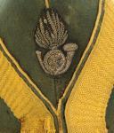 BONNET DE POLICE DE SOUS-OFFICIER DE CHASSEURS À PIED DE LA GARDE IMPÉRIALE, MODÈLE 1860, SECOND EMPIRE. (2)