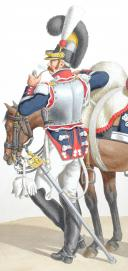 Photo 2 : 1817. Garde Royale. Cuirassiers (2e Régiment). Brigadier.