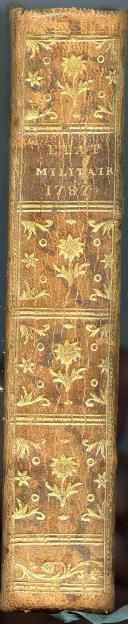 Photo 3 : ÉTAT MILITAIRE DE FRANCE, 1787.