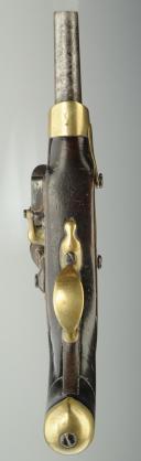 Photo 5 : PAIRE DE PISTOLETS DE CAVALERIE PREMIER EMPIRE, modèle An XIII de St Etienne.