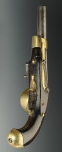 PAIRE DE PISTOLETS DE CAVALERIE PREMIER EMPIRE, modèle An XIII de St Etienne. (8)