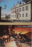 """E.DAHL & G.HUBERT - """" ILE D'AIX musée napoléonien & ILE D'AIX musée africain """" - Lot de 2 livrets"""