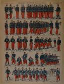 """PELLERIN - """" Exercice d'Infanterie (instruction militaire) """" - Imagerie d'Épinal - n°22 (1)"""