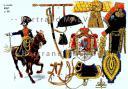 RIGO (ALBERT RIGONDAUD) : LE PLUMET PLANCHE 197 : LE MARECHAL MURAT EN 1805.