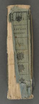 ANNUAIRE MILITAIRE de France pour l'année 1827.