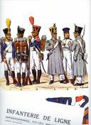 ROUSSELOT LUCIEN : INFANTERIE DE LIGNE 1812-1815.