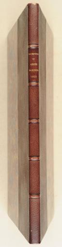 SAUERWEID (Alex.). Die sachsische ARMÉE. Dresden (l'armée saxonne représentée), Buttner & Sauerweid, 1810,  (2)