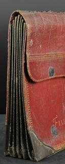 Photo 5 : Briefcase of François Bausset, Préfet du Palais, with his memories, First Empire.