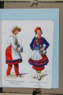 """BRONNER (A) - """" Cantinières de l'armée française """" - Avec 68 aquarelles originales sous chemise - Paris"""