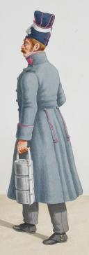Photo 2 : 1818. Garde Royale. Infanterie. (2e Régiment), Voltigeur (5e Régiment).