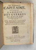 Photo 3 : Le Parfait Capitaine ou l'abrégé des guerres de Gaule des commentaires de César