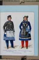 """Photo 3 : BRONNER (A) - """" Cantinières de l'armée française """" - Avec 68 aquarelles originales sous chemise - Paris"""
