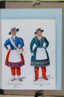"""Photo 5 : BRONNER (A) - """" Cantinières de l'armée française """" - Avec 68 aquarelles originales sous chemise - Paris"""