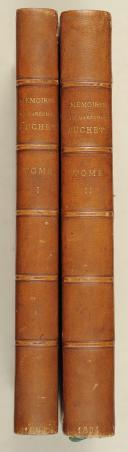 SUCHET. Mémoires du Maréchal Suchet. 2e édition.   (1)