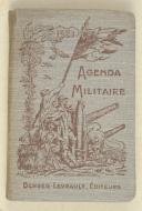 Agenda militaire à l'usage des officiers et sous-officiers   (1)