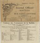Photo 4 : COURONNE MURALE DE VAINQUEUR BOURGEOIS DE LA BASTILLE, 14 juillet 1790, RÉVOLUTION.