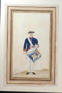 Nicolas Hoffmann, Tambour des Gardes Françaises en petit uniforme.