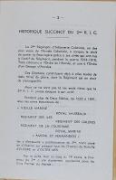 """Photo 2 : LAVAUZELLE - """" 2ème régiment d'Infanterie Coloniale - 49ème Bataillon de chasseurs à pied - 119ème Régiment d'Infanterie Coloniale"""" - Lot de 3 livrets - 1920 - 1921"""