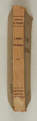 """Photo 2 : Gl JOUSSE – """" L'armée nationale """""""