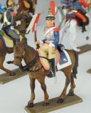 Photo 3 : SOLDATS DE PLOMB, LOT DE DOUZE CAVALIERS 54 mm, Napoléon et la Garde Impériale, Premier Empire.