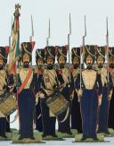 SOLDATS DE STRASBOURG par Gustave SILBERMANN : 23 GRENADIERS À PIED DE LA GARDE IMPÉRIALE, SECOND EMPIRE (1854-1860). (4)