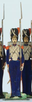 SOLDATS DE STRASBOURG par Gustave SILBERMANN : 23 GRENADIERS À PIED DE LA GARDE IMPÉRIALE, SECOND EMPIRE (1854-1860). (6)
