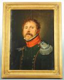 PORTRAIT D'UN SOUS-LIEUTENANT DU 4ème RÉGIMENT DE CHASSEURS À CHEVAL, PREMIER EMPIRE, 1804-1812. (1)