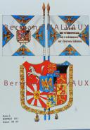 RIGO (ALBERT RIGONDAUD) : LE PLUMET PLANCHE D30 : DRAPEAUX ÉTENDARDS ROYAUME DE WESTPHALIE (III) 1808-1814