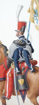 Photo 2 : 1830. Hussards. Sous-Lieutenant Porte-Etendard (5e Régiment)