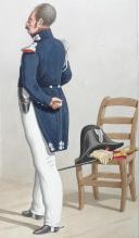 Photo 2 : 1830. Garde Royale. Cuirassiers (2e Régiment). Maréchal des Logis-Chef, Major.
