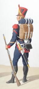 1816-1820. Artillerie à Pied. Premier Cannonier, Sergent. (2)