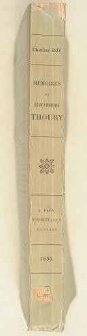 THOURY. Mémoires De Jean-François Thoury.   (2)